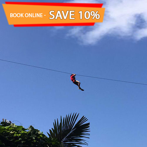 Purchase Cable Jungle Adventure Phuket Zip-Line Canopy Tour Tickets Online and Save 10%